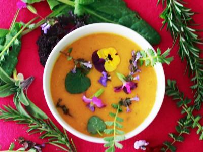Vegetarische Speisen auf Wunsch vegan